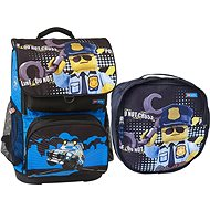 LEGO CITY Police Cop Optimo - 2-piece Set - School Backpack
