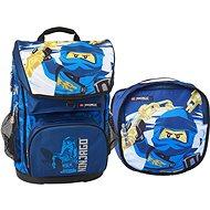 LEGO Ninjago JAY of Lightning Maxi - 2-piece Set - School Backpack