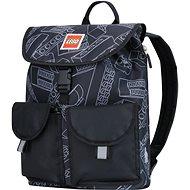 Městský dětský batoh LEGO Tribini HAPPY - černý - Městský batoh