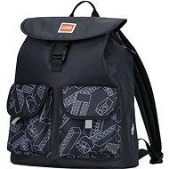 Městský batoh LEGO Tribini HAPPY - černý - Městský batoh
