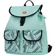 Městský batoh LEGO Tribini HAPPY - mentolově zelený - Městský batoh