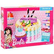Barbie - Barevná modelína - Narozeninový dort - Modelovací hmota