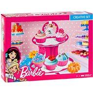 Barbie - Barevná modelína - Dortíková sada - Modelovací hmota