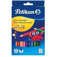 Pelikan 12 barev trojhranné