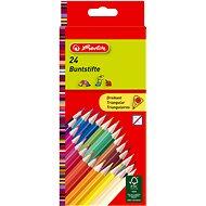 Herlitz 24 barev trojhranné