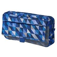 Herlitz 2 kapsy GeometricBlue - Pouzdro do školy