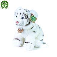 Plyšák Rappa Eco-friendly bílý tygr, 25 cm