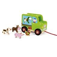 Scratch Farm Animal Truck - Wooden Model
