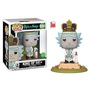 Funko POP Animation: Rick & Morty S2 - King of $#!+ w/Sound 6""