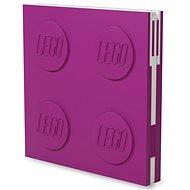 LEGO Zápisník - fialový - Zápisník