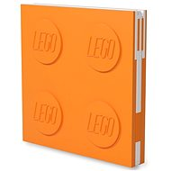 LEGO Zápisník - oranžový - Zápisník