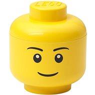 LEGO storage head (mini) - boy - Storage Box