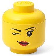 LEGO úložná hlava (mini) - whinky - Úložný box