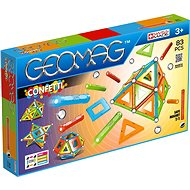 Geomag Confetti 83 - Magnetická stavebnice