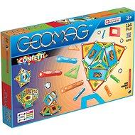 Geomag Confetti 114 - Magnetická stavebnice