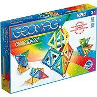 Geomag Rainbow 72 - Magnetická stavebnice
