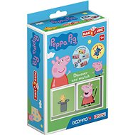 Magicube Peppa Pig Discover & Match - Magnetická stavebnice