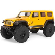 Axial SCX24 Jeep Wrangler JLU CRC 2019 1:24 4WD RT yellow - RC Remote Control Car