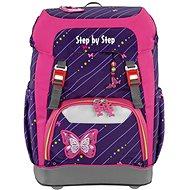 Školní batoh Step by Step GRADE Třpytivý motýl - Školní batoh