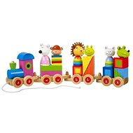 Puzzle- Animal train - Wooden Toy