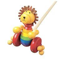 Chodící lev - Dřevěná hračka