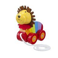 Tahací lev - Dřevěná hračka