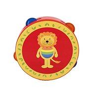 Tamburina - lev - Hudební hračka