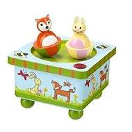 Hudební skříňka - Zvířátka z lesa - Hudební hračka