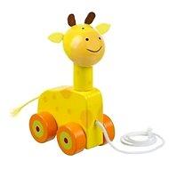 Tahací žirafa - Dřevěná hračka