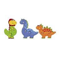 Mini puzzle - Dinosauři - Dřevěné Puzzle