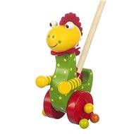 Chodíci dinosaurus - Dřevěná hračka