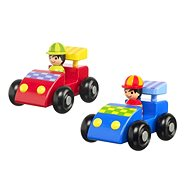 Moje první závodní auta - Dřevěná hračka