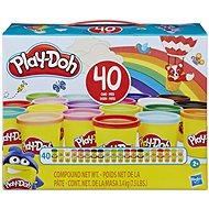 Play-Doh balení 40 ks kelímků - Modelovací hmota