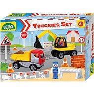 Truckies Set stavba, okrasný kartón - Auto