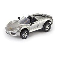 Porsche 918 Spyder, stříbrné - Autíčko pro autodráhu