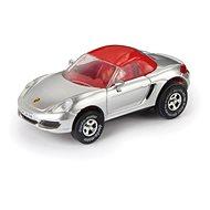 Porsche Boxster, cabrio, stříbrné - Autíčko pro autodráhu