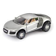 Audi R8, stříbrné - Autíčko pro autodráhu