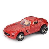 Mercedes-Benz SLS AMG, červený - Autíčko pro autodráhu