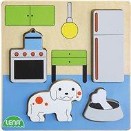 Dřevěné puzzle, kuchyň - Dřevěné Puzzle