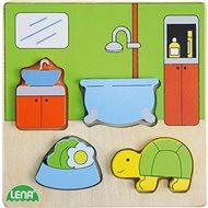 Dřevěné puzzle, koupelna - Dřevěné Puzzle
