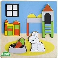 Dřevěné puizzle, dětský pokoj - Dřevěné Puzzle