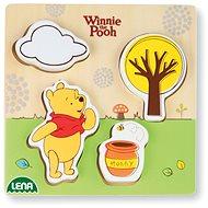 Dřevěné puzzle Winnie the Pooh, medvěd - Dřevěné Puzzle