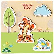 Dřevěné puzzle Winnie the Pooh, tygr - Puzzle