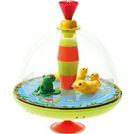 Panoramatická káča kačenky, žába, zvuk - Hudební hračka