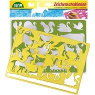 Kreslící tabulka Kreslící šablony ( koně, kočky)
