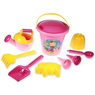 Sand set for girls II, 10 pieces - Outdoor Game