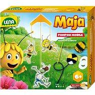 Zvířátka včelka Mája, pompon - Kreativní hračka