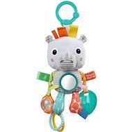 Hračka na C kroužku Playful Pals nosorožec  - Hračka pro nejmenší