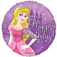 Foliový balónek, 46cm, kruh, princezniny narozeniny - Balonky