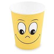 Kelímky papírové, 0,28 l, Smiley, 10 ks - Kelímek